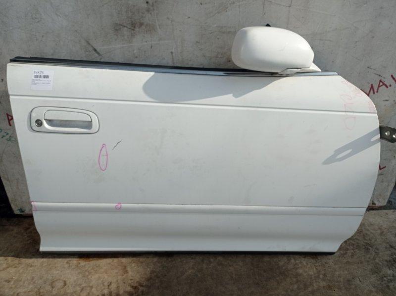Дверь Toyota Mark Ii GX90 1G 1992 передняя правая