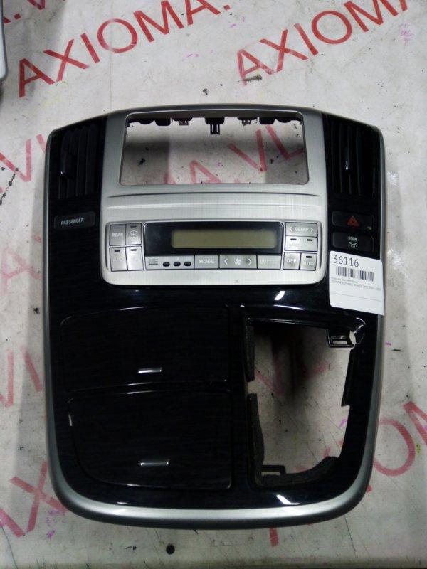 Консоль магнитофона Toyota Alphard MNH10 1MZ 2005