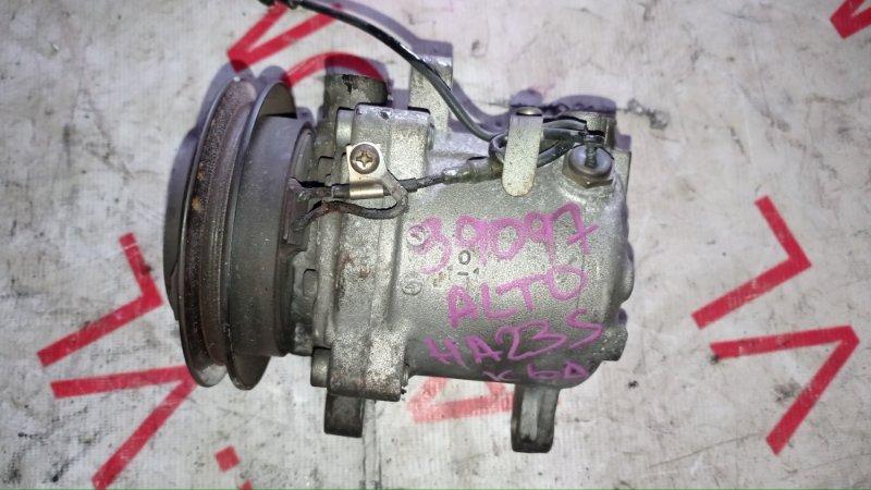 Компрессор кондиционера Suzuki Alto HA23S K6A 1998