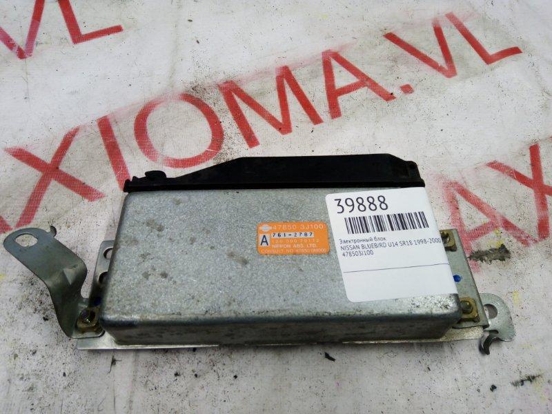 Электронный блок Nissan Bluebird U14 SR18 1998
