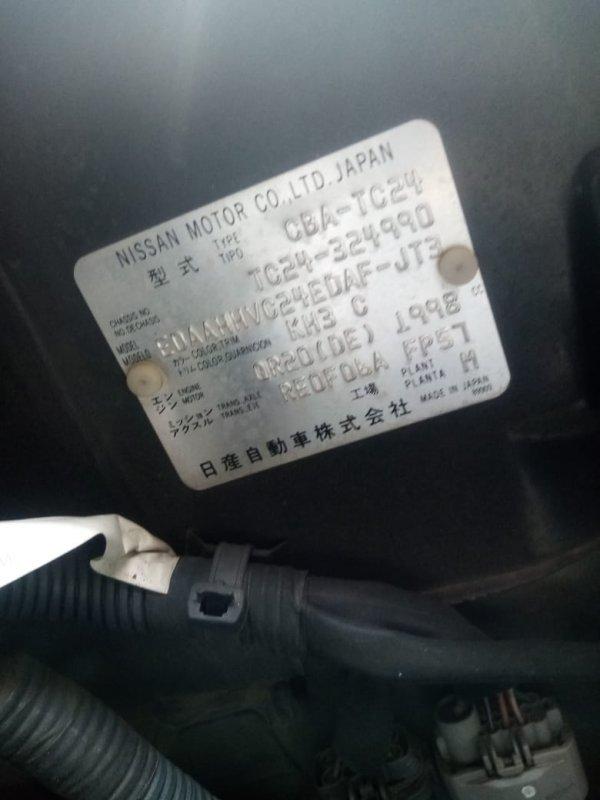 Дверь Nissan Serena C24 QR20 2001 задняя правая