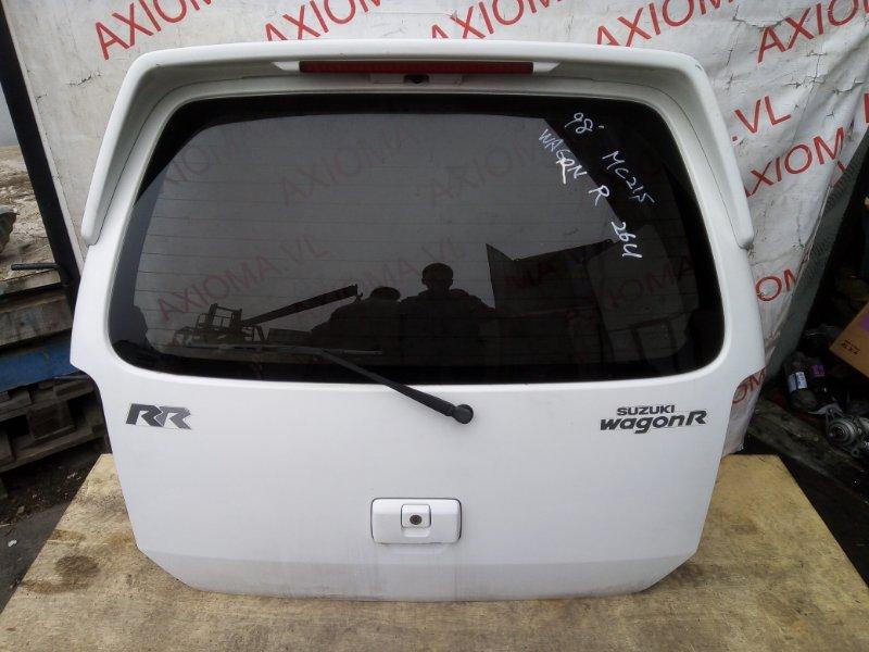 Дверь 5-я Suzuki Wagon R MC21S K6A 1998