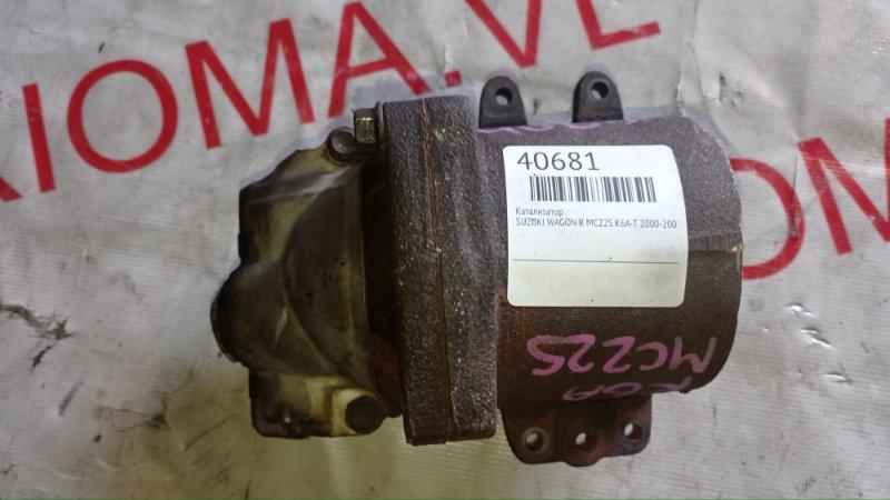 Катализатор Suzuki Wagon R MC22S K6A-T 2000