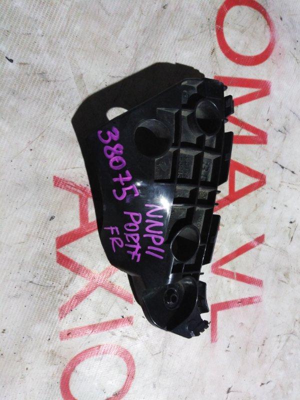Крепление бампера Toyota Porte NNP11 1NZ 2004 переднее правое