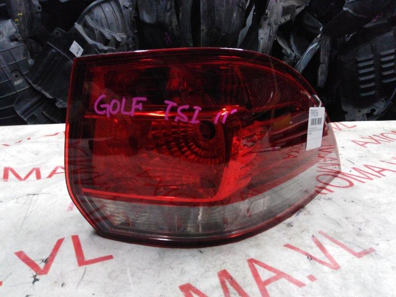 Стоп-сигнал Volkswagen Golf Plus 5M1 CAVD 2009 задний правый