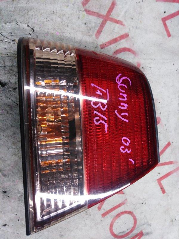 Стоп-сигнал Nissan Sunny FB15 QG15DE 2002 задний левый