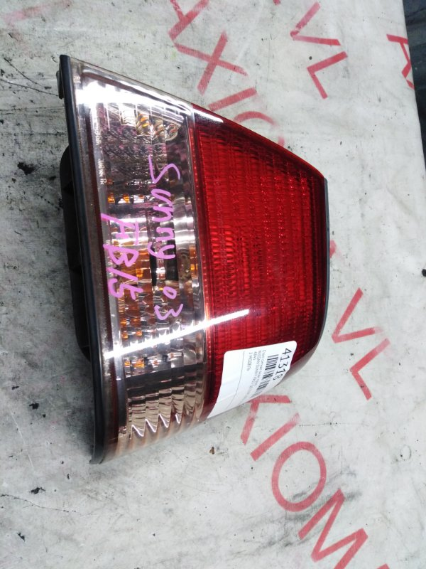 Стоп-сигнал Nissan Sunny FB15 QG15DE 2002 задний правый
