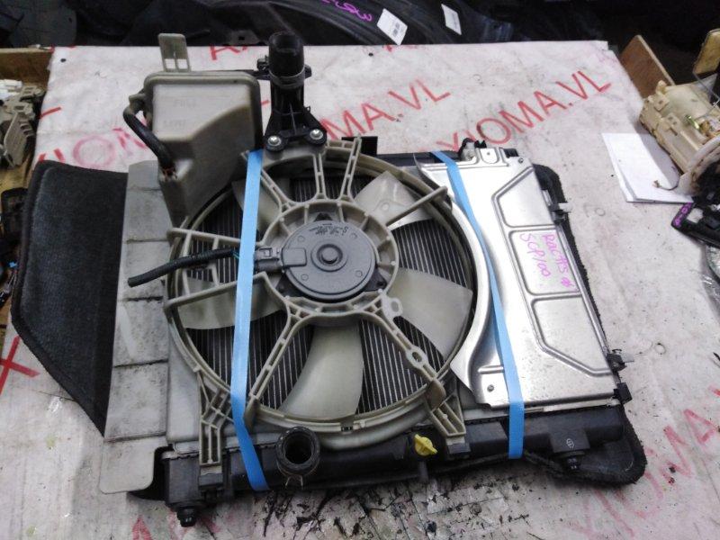 Радиатор двс Toyota Ractis SCP100 2SZ 2005