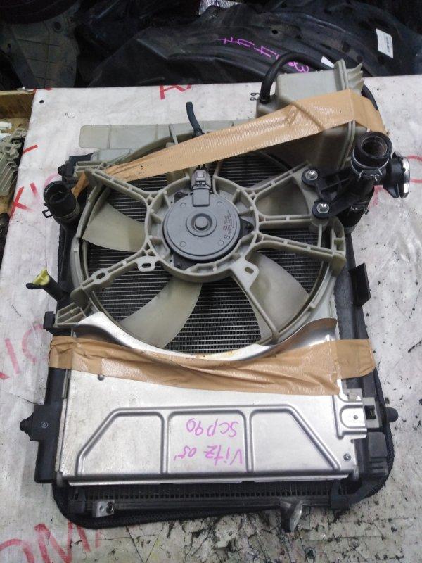 Радиатор двс Toyota Vitz SCP90 2SZ 2005