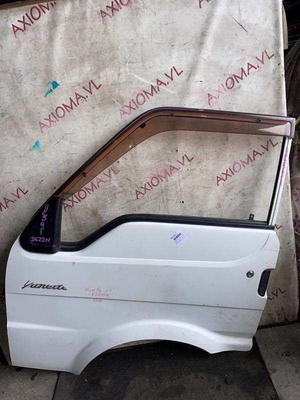 Дверь Mazda Bongo SK22M F8 1999 передняя левая