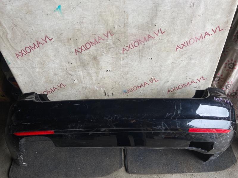 Бампер Volkswagen Golf Plus 5M1 CAVD 2009 задний