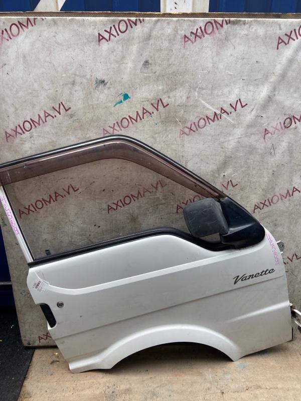 Дверь Mazda Bongo SK22M F8 1999 передняя правая