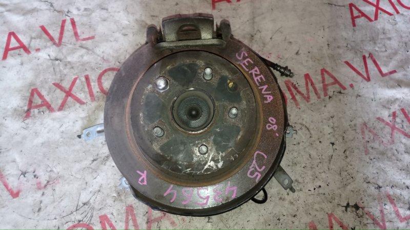 Ступица Nissan Serena C25 MR20 2004 задняя правая