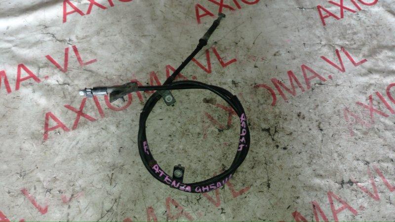 Тросик ручника Mazda Atenza GH5AW L5 2008 задний правый