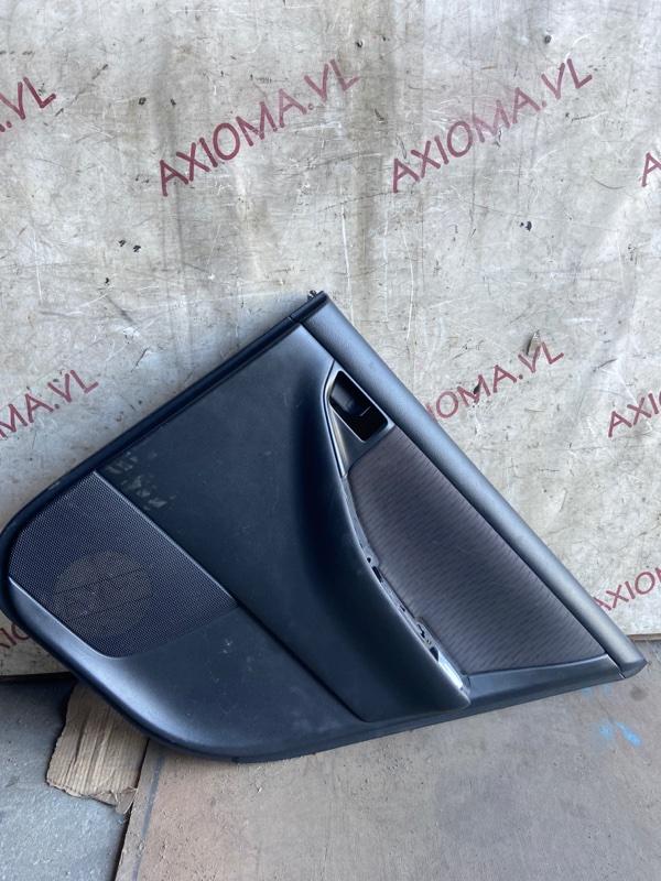 Обшивка дверей Toyota Corolla Fielder NZE121 1NZ 2001 задняя правая