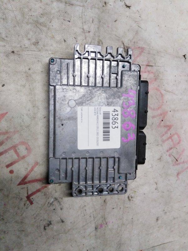 Блок efi Nissan March K12 CR12 2002
