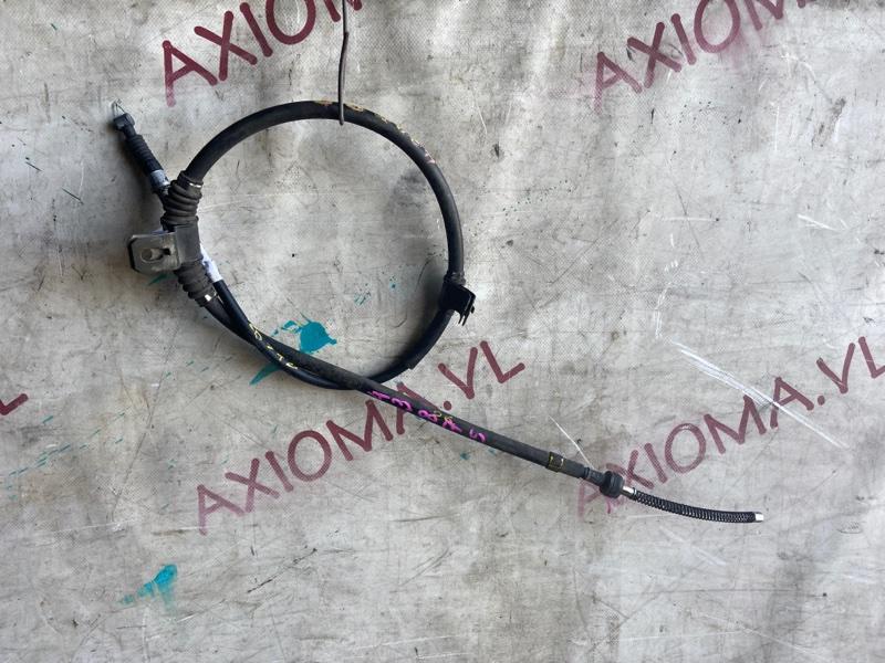 Тросик ручника Mitsubish Pajero Mini H56A 4A30 1997 задний правый