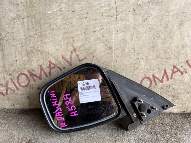 Зеркало Mitsubishi Pajero Mini H58A 4A30 1998 левое