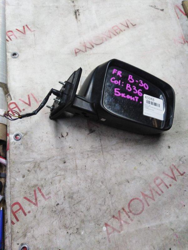Зеркало Nissan Lafesta B30 MR20 2004 правое
