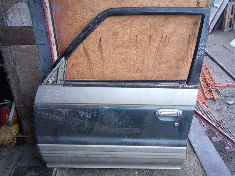 Дверь Mitsubishi Pajero V43W передняя левая