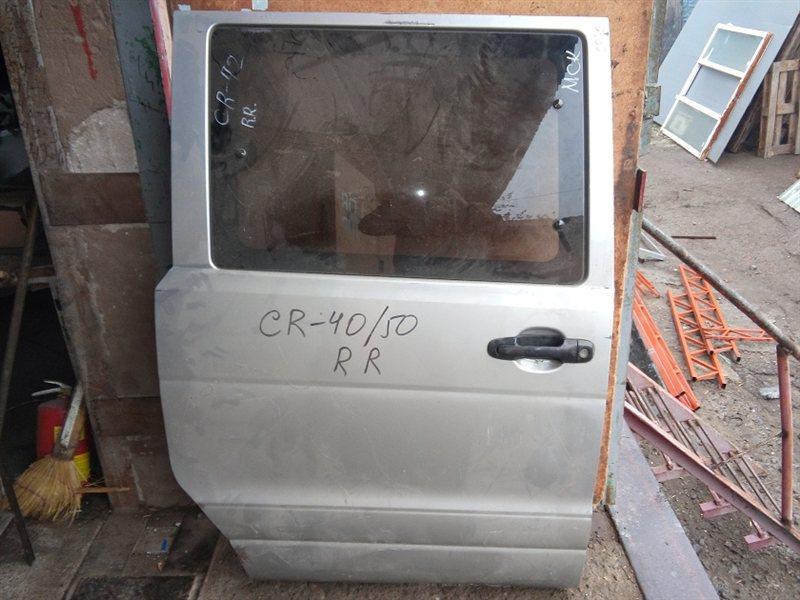 Дверь Toyota Town Ace Noah KR42V задняя правая