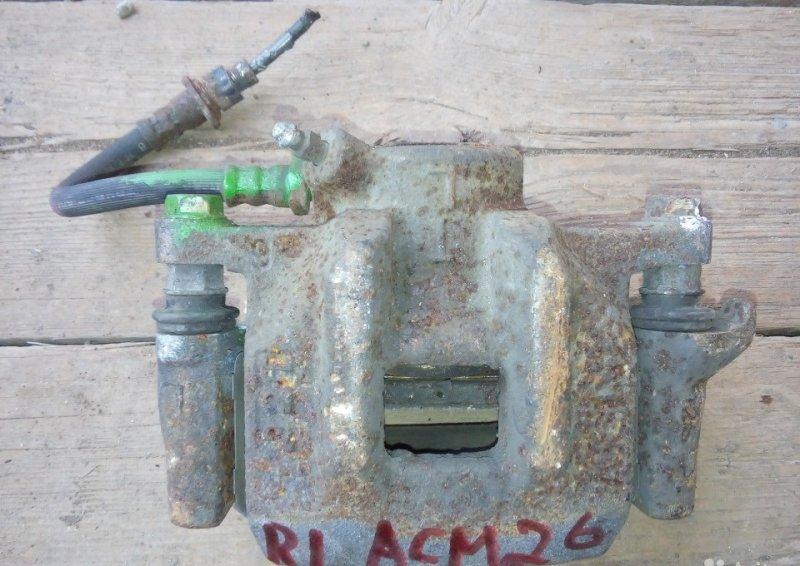 Суппорт Toyota Ipsum ACM20 задний левый