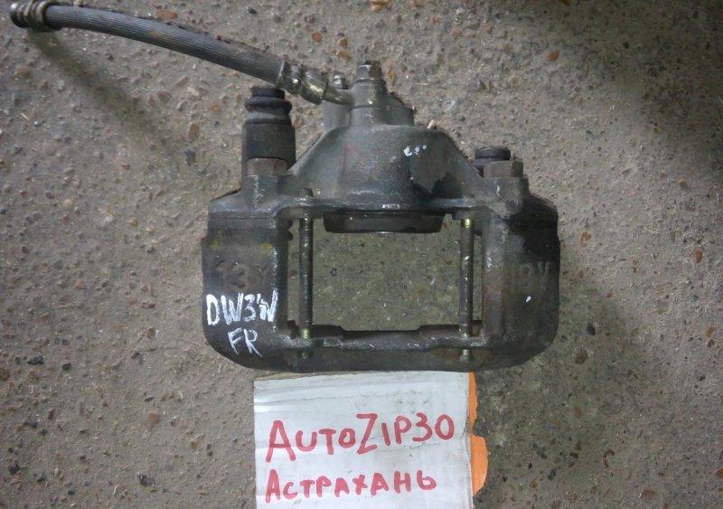 Суппорт Mazda Demio DW3W передний правый