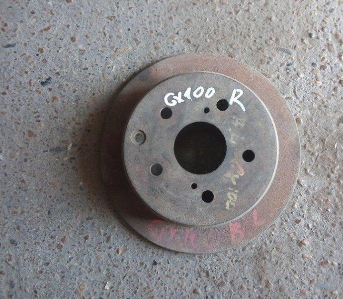 Тормозной диск Toyota Mark Ii GX100 1G-FE задний