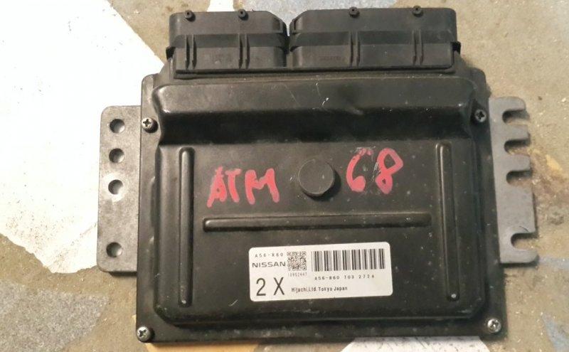 Блок управления двс Nissan March AK12 CR12-DE