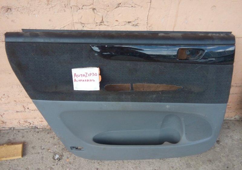 Обшивка двери Toyota Ipsum ACM21 задняя левая
