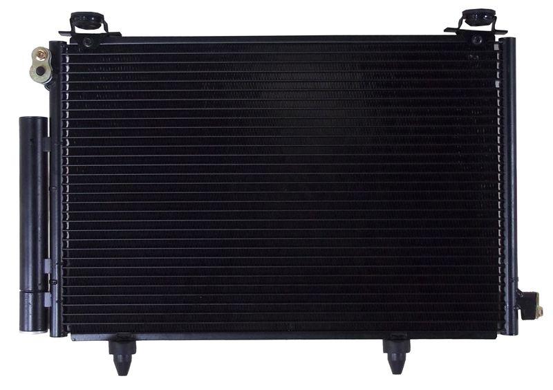 Радиатор кондиционера Toyota Vitz NCP30
