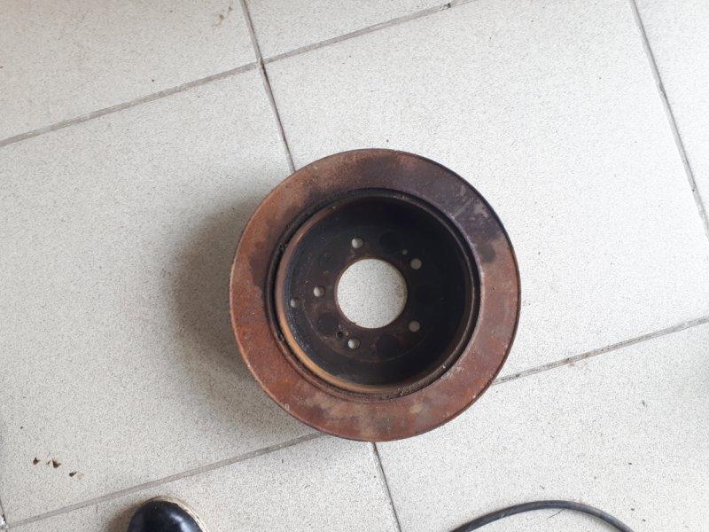 Тормозной диск Hyundai Tucson BH 2004 задний