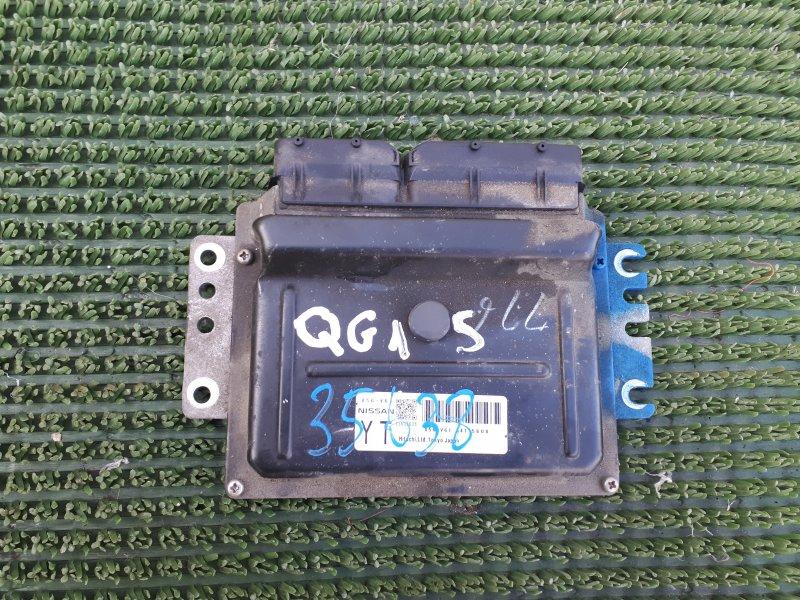 Блок управления двс Nissan Wingroad WFY11 QG15DE