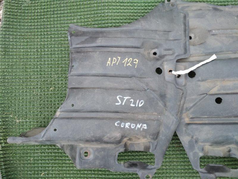 Защита двигателя Toyota Corona ST210 передняя левая