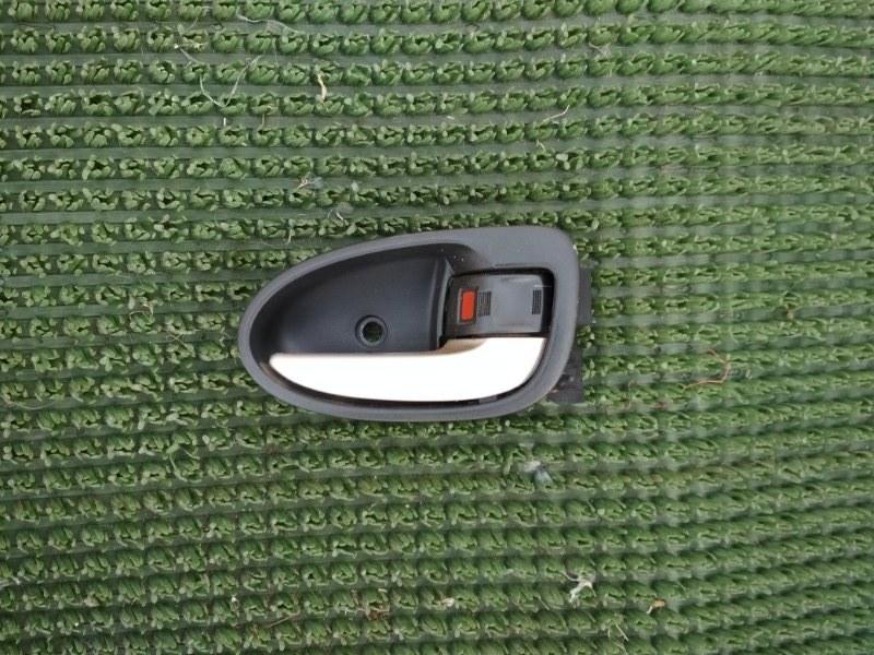 Ручка двери внутренняя Toyota Yaris SCP90 2SZ-FE 2008 задняя правая