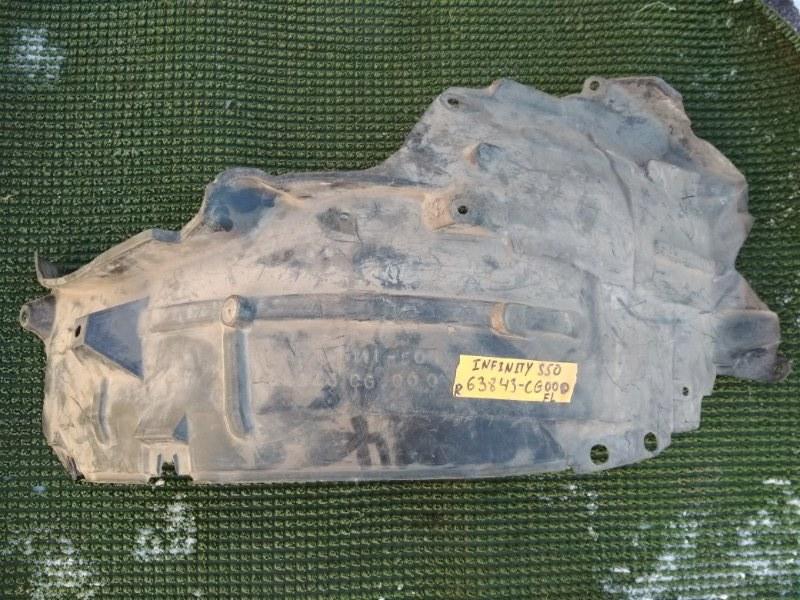 Подкрылок Infiniti Fx45 S50 передний левый