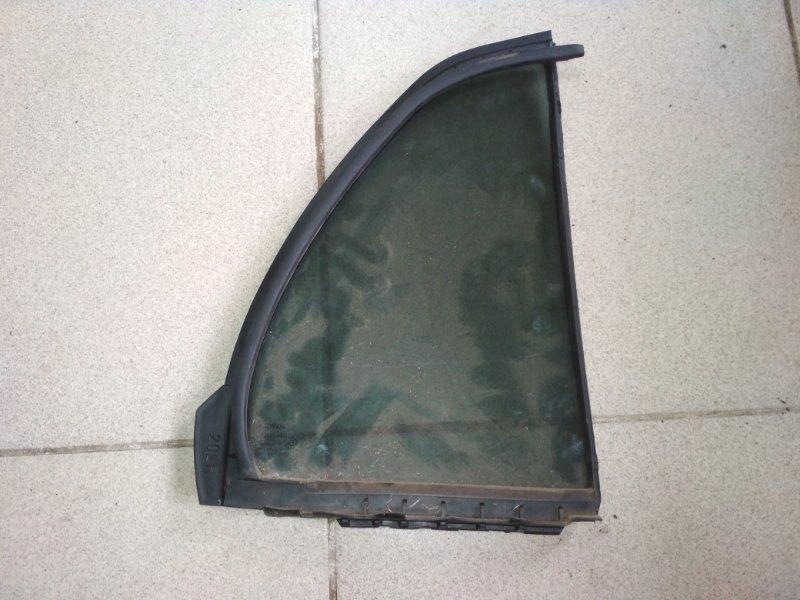 Форточка двери Toyota Yaris SCP90 2SZ-FE 2008 задняя левая