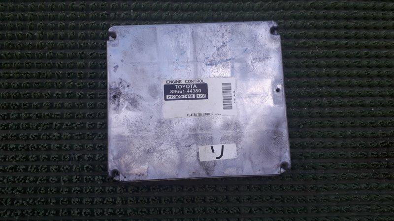 Блок управления двс Toyota Ipsum ACM21 2AZFE