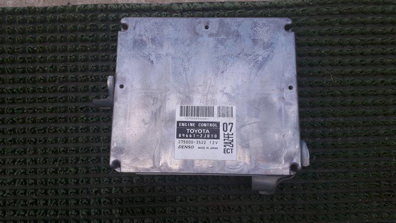 Блок управления двс Toyota Estima ACR30 2AZFE