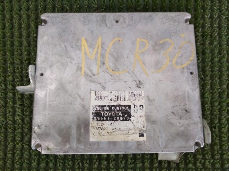 Блок управления двс Toyota Estima MCR30 1MZFE 2001
