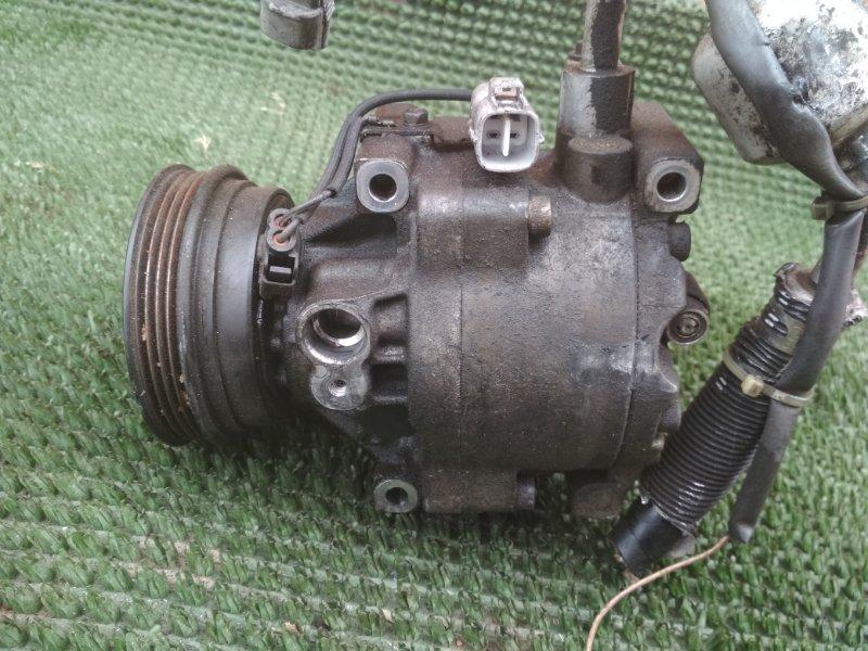 Компрессор кондиционера Toyota Raum EXZ10 5EFE