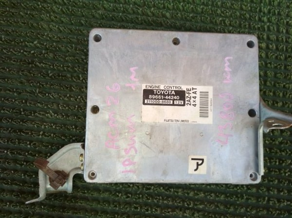 Блок управления двс Toyota Ipsum ACM26 2AZFE 2001