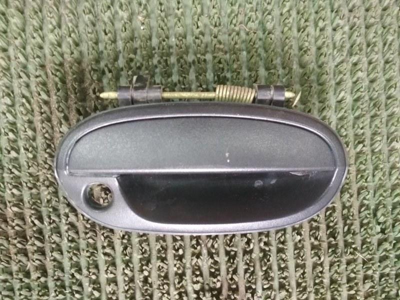 Ручка двери внешняя Chevrolet Spark M200 F8CV 2008 передняя правая