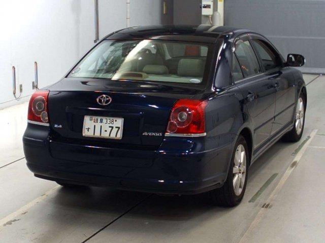Ремень безопасности Toyota Avensis AZT251 2AZ-FSE 2007 задний левый