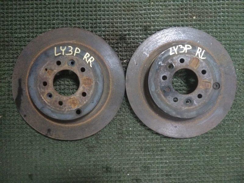 Тормозной диск Mazda Mpv LY3P L3VDT 2006 задний