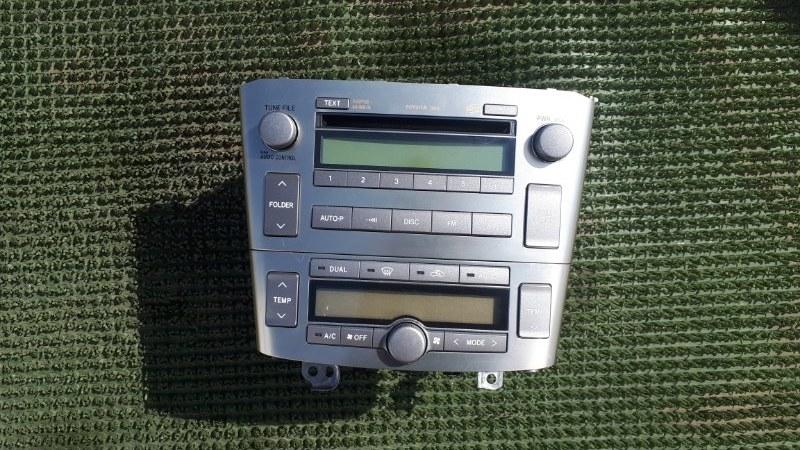 Магнитола (штатная) Toyota Avensis AZT251 2AZ-FSE 2007