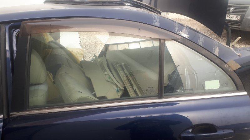 Форточка двери Toyota Avensis AZT251 2AZ-FSE 2007 задняя левая