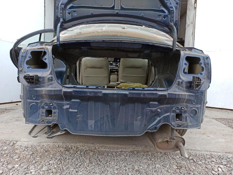 Задняя часть кузова ( с тазиком) Toyota Avensis AZT251 2AZ-FSE 2007 задняя