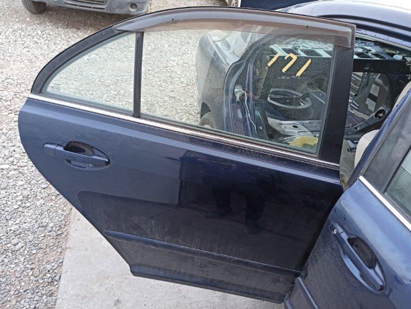 Дверь Toyota Avensis AZT251 2AZ-FSE 2007 задняя правая