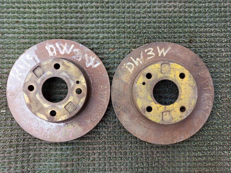 Тормозной диск Mazda Demio DW3W передний